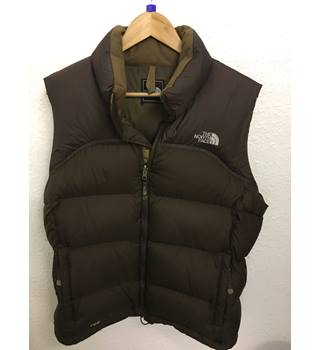 84d11c6fb North Face Gilet North Face - Size: L - Brown - Body warmer | Oxfam GB |  Oxfam's Online Shop
