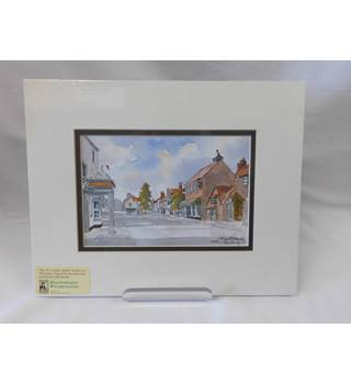 Thornbury - Watercolour limited edition print - Martin Goode