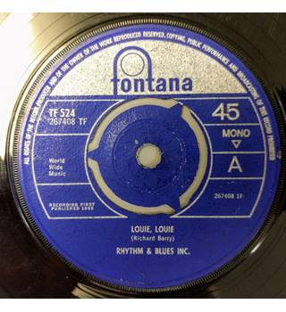Louie, Louie Rhythm & Blues Inc. - TF 524