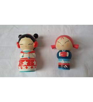 Pair of Momiji Dolls