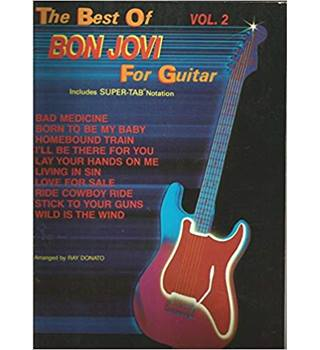 The Best Of Bon Jovi For Guitar