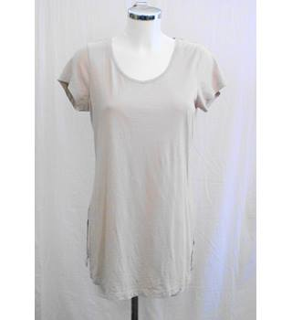M&Co oatmeal  tunic/long T shirt Size 12