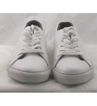 NWOT Autograph, size 11 white leather trainers
