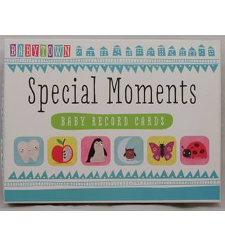 BabyTown - Special Moments - Baby Record Cards