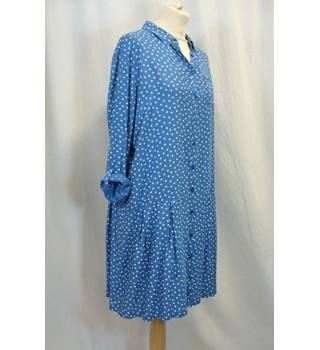 Next - Size: 16 - Blue - Knee length dress