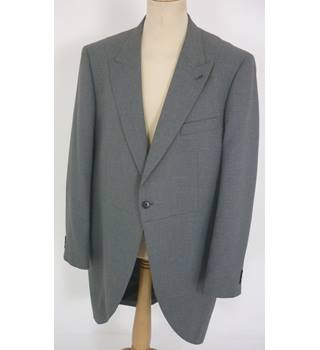 "Taylor & Wright -Size: XL, 48"" chest, regular fit Grey Stylish/Smart Polyester Tailcoat Suit Jacket"