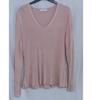 Per Una 16 Thin Pink Jumper
