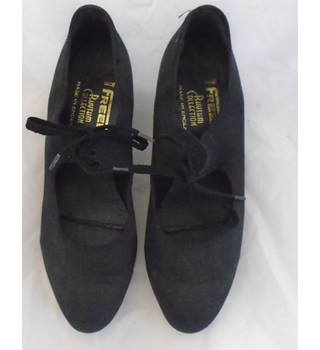 FREED BLACK TAP DANCE SHOES WITH TELETONE TAP RHYTHM COLLECTION freed rhythm collection - Size: 6 - Black