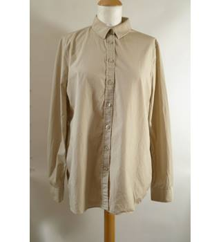 Burberry size 12 Beige Cotton Shirt