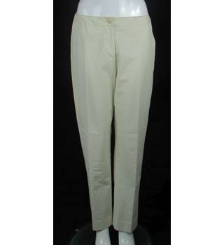 "Hobbs - Size: 30"" S - Cream / ivory - Trousers"