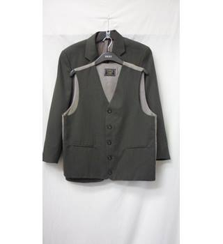 Cutler & Company - Size: S - Forest Green - Single breasted suit jacket