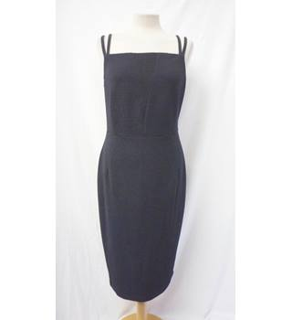 M&S Collection - Size: 12 - Black - Calf length dress