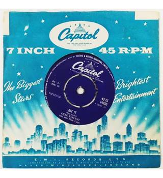 Git It / Little Lover. Gene Vincent And His Blue Caps - 45-CL 14935