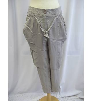 Ana Sousa - Size: 12 - Grey - Trousers