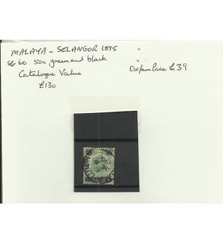 Malaya - Salangor 1895 Multi-coloured