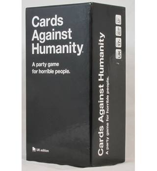Cards Against Humanity UK Edition - Ages 17+