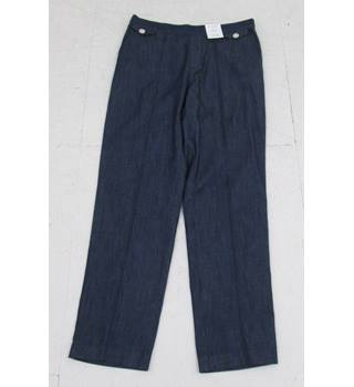 NWOT M&S Classic Size:12 Indigo Trousers