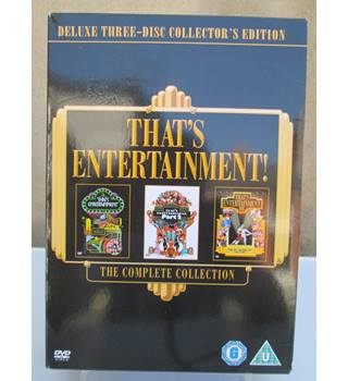 THAT'S ENTERTAINMENT THE COMPLETE COLLECTION