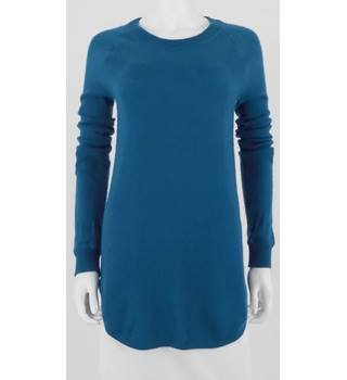 Philosophy Size S Teal Luxury 100% Cashmere Dress