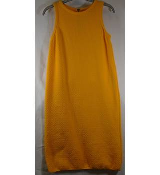 Zara Knit Size Small Yellow Dress