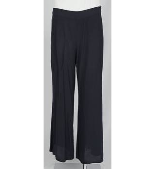 M&S Marks & Spencer - Size: M - Blue - Trousers