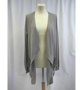 The White Company Size: L  Grey Waterfall Cardigan
