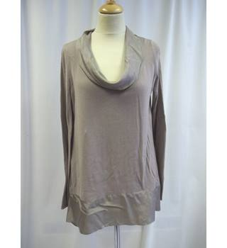 Phase Eight - Size: 10 - Grey - Cowl Neck top