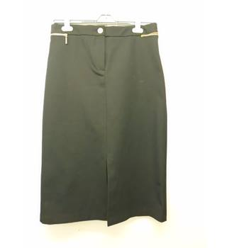 M&S Marks & Spencer - Size: 12 - Black - Knee length skirt
