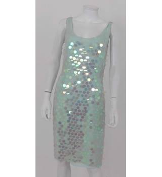 August Silk collection Size: 12  Blue Disco Dress