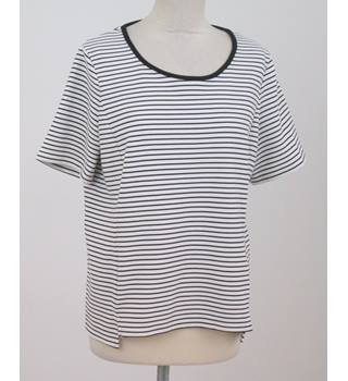 NWOT Collection - Size: 16 - White with black stripes - top
