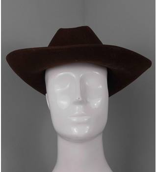 Unbranded  Size: One size  Brown  Cowboy hat