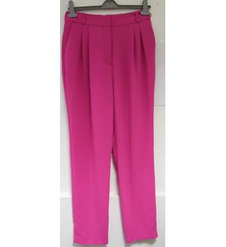 Statement Pink Trousers by River Island - Size: S - Pink - Trousers