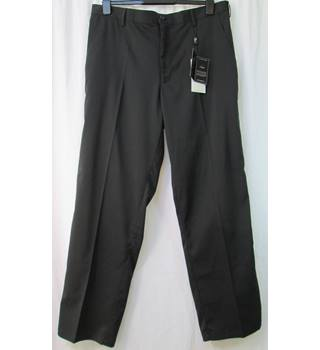 "Woodworm golf  Size: 36"" waist  Black  Trousers"