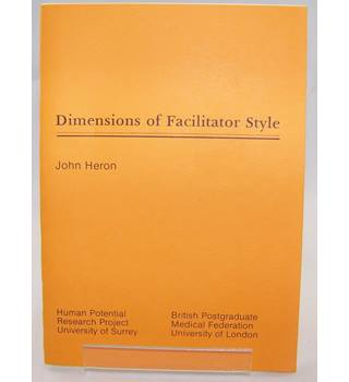 Dimensions of Facilitator Style