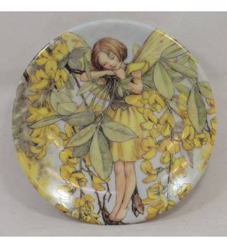 Flower Fairies - The Laburnum Fairy - Miniature Plate