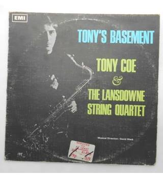 "Tony's Basement - Tony Coe & The Lansdowne String Quartet 12"" Vinyl LP"