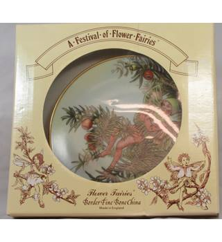 Flower Fairies - The Yew Fairy - Plate