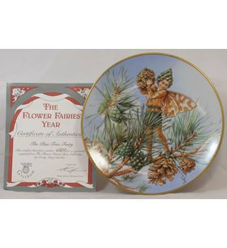 Flower Fairies - The Pine Tree Fairy - Plate