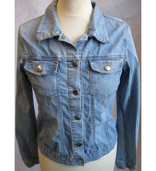 Fashion Fair stretch denim trucker jacket size 8 Fashion Fair - Size: 8 - Blue - Casual jacket / coat