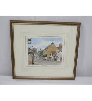 Portraits of Britain Limited Edition Framed Print 'Thornbury' Glyn Martin