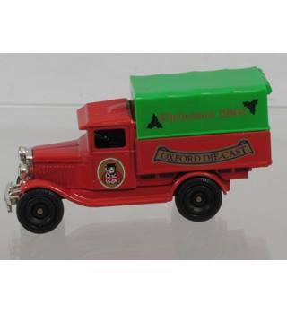 Delivery Truck Model - Christmas 1998 - Limited Edition- Oxford Die-Cast