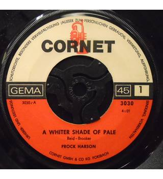 A Whiter Shade Of Pale - Prock Harson - 3030