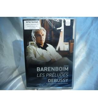 Daniel Barenboim plays and explains Les Preludes by Debussy - A music film by Daniel Barenboim (DVD, new sealed)