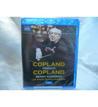 Copland conducts Copland - Benny Goodman, Los Angeles Philharmonic (Blu-Ray, new sealed)