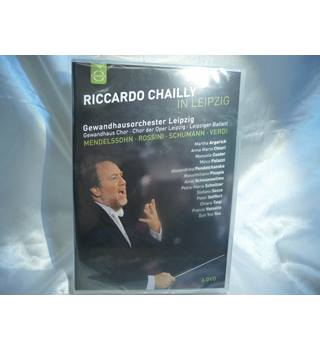 Riccardo Chailly in Leipzig - Gewandhausorchester Leipzig (4 DVD set, new sealed)