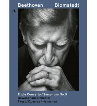 Blomstedt: Beethoven Triple Concerto / Symphony No. 5  (DVD, new sealed)