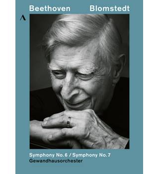 Blomstedt: Beethoven Symphony No. 6 & 7 (DVD, new sealed)