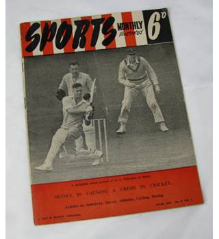 Sports Monthly Illustrated (June 1951, No. 8, Vol. 1)