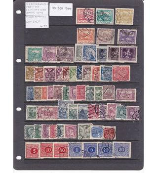 Czechoslovakia - Mint and Used
