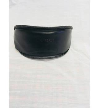 Gucci Soft Leather Glasses case Gucci - Size: Not specified - Black - Sunglasses